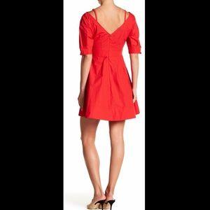10 Crosby Derek Lam Dresses - Derek Lam 10 Crosby Cold Shoulder V-Neck Dress